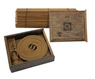 5  Element wood cover incense