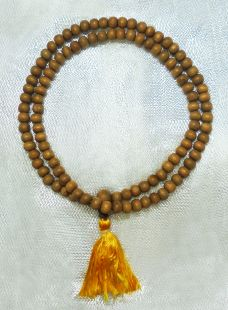 Indian Sandalwood mala 6mm