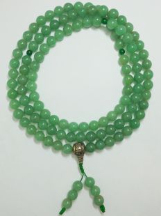 Aventurine 10mm mala (green)