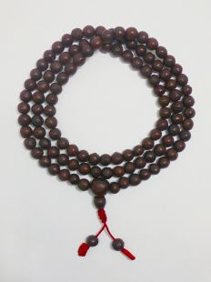 Phoenix Eye Bodhi Mala seed mala (Antique) 108beads 9-10mm